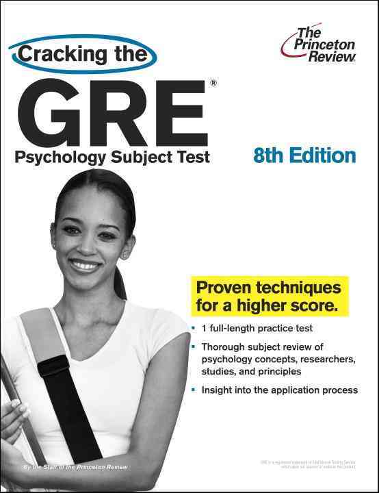 Cracking the GRE Psychology Subject Test By Jay, Meg, Ph.D.