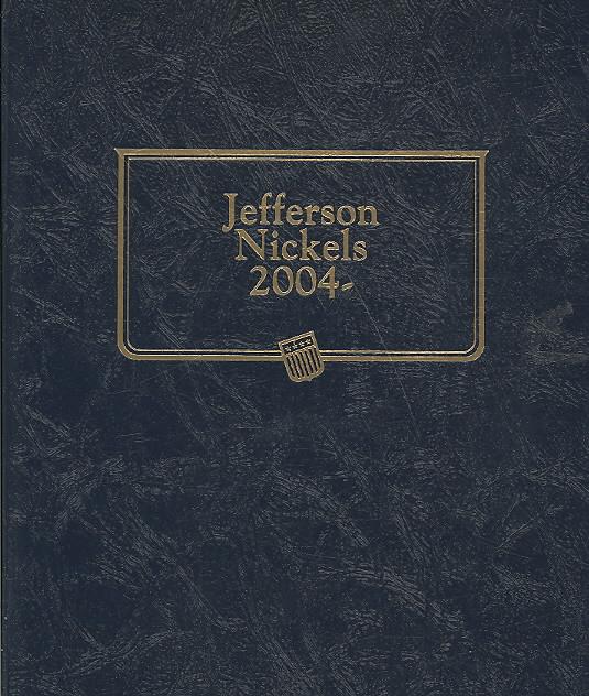 Jefferson Nickels 2004 By Whitman Publishing (COR)